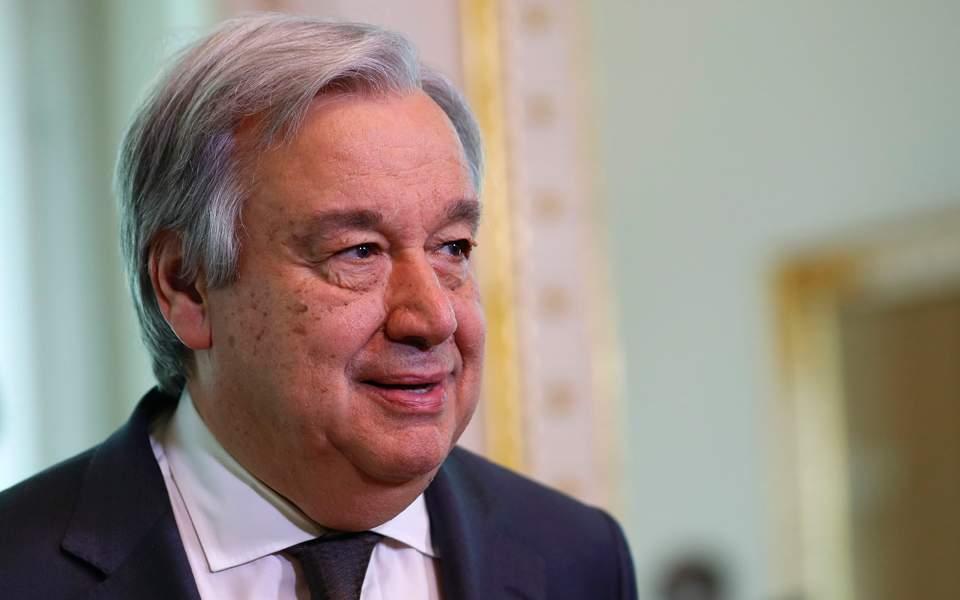 Σε Αντ. Γκουτέρες, Συμβούλιο Ασφαλείας οι ελληνικές θέσεις   ΠΟΛΙΤΙΚΗ