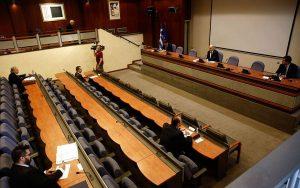 Σε εξέλιξη η συνεδρίαση του Εθνικού Συμβουλίου Εξωτερικής Πολιτικής   ΠΟΛΙΤΙΚΗ